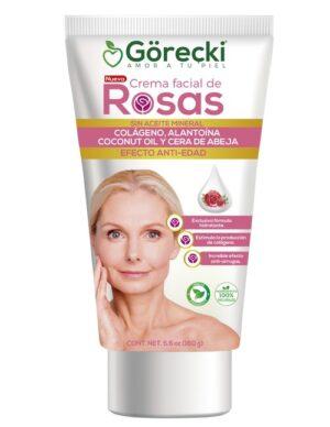 GORECKI CREMA FACIAL DE ROSAS