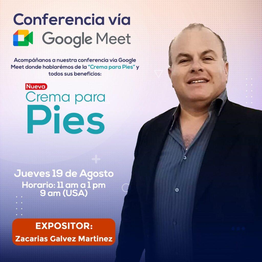 gorecki-conferencia Google Meet-pies resecos