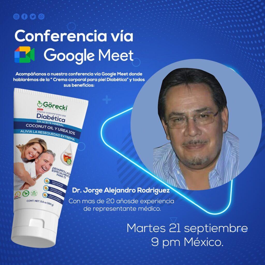 video conferencia Gorecki piel diabetica
